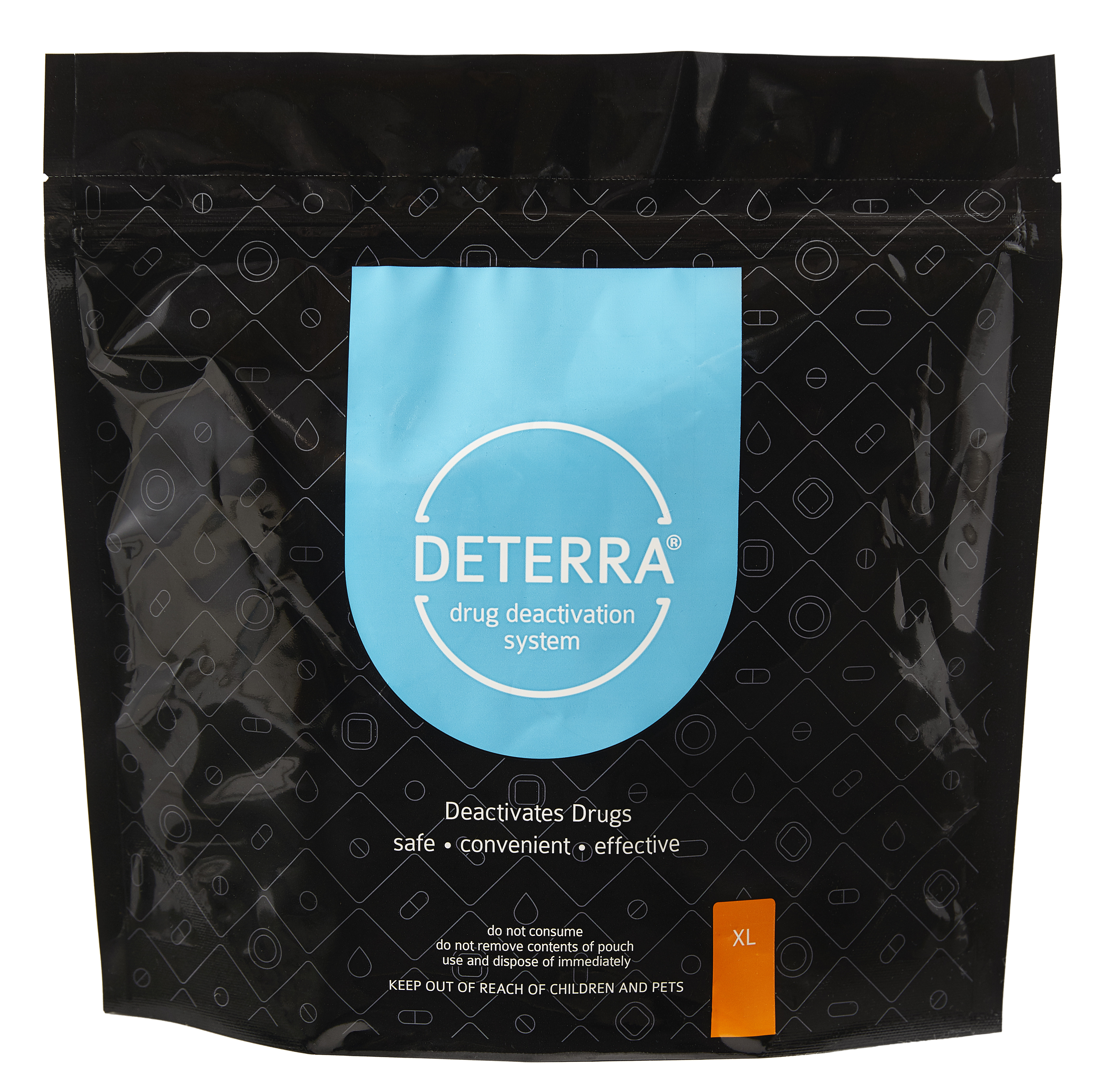 Deterra® Drug Deactivation System, X-Large Pouch, 450 Pills