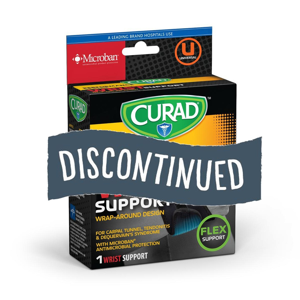 (Discontinued) Curad® Universal Wraparound Wrist Support