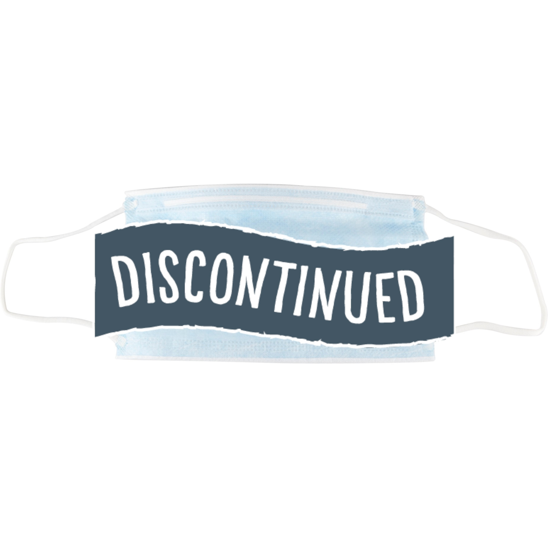 (Discontinued) Standard Disposable Face Mask, 50/box