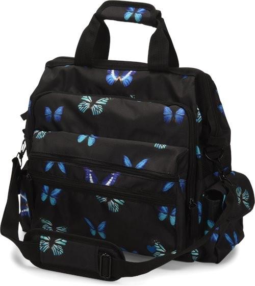 Nurse Mates® Ultimate Nursing Bag, Midnight Butterfly