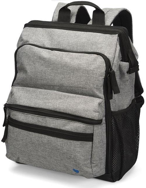 Nurse Mates® Ultimate Nursing Backpack, Grey Linen