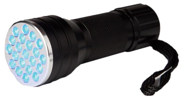 21 LED UV Flashlight