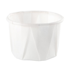 1 Oz Souffle Paper Cups, 5000/Case
