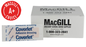 "1"" x 3"" Coverlet® Flexible Fabric Bandages 100/Box"