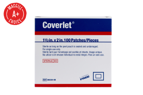 "1-1/2"" x 2"" Coverlet® Flexible Fabric Patch 100/Box"