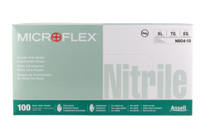 Microflex® Premium Nitrile Powder-Free Gloves, X-Lg, 100/Box