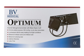 Latex-Free Professional Sphygmomanometer with Adult Cuff