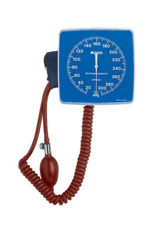 Wall-Mounted Clock Aneroid Sphygmomanometer w/Adult Cuff