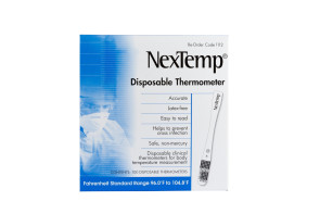 NexTemp® Single Use Thermometers, 100/Box