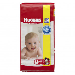 Huggies Snug and Dry Diapers Size 2, 38/Pack