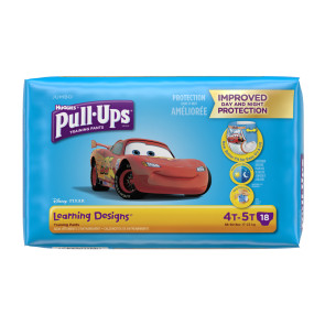 Huggies Pull Ups for Boys, 4T-5T, 18/Pack