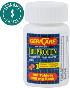 Ibuprofen Tablets, 200 mg, 100/Bottle