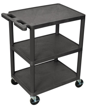Luxor 3 Shelf Utility Cart