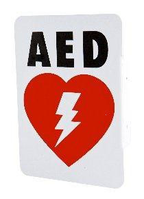 """L"" Shaped AED Sign, 7"" x 10"""