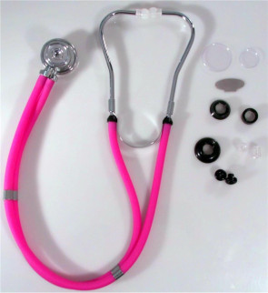 Pink Sprague Rappaport-Type Stethoscope