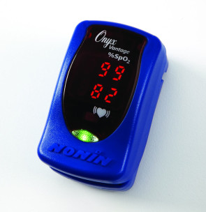 Nonin Onyx Vantage 9590 Pulse Oximeter, Blue