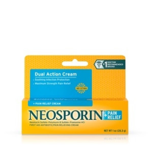 Neosporin Maximum Strength Cream, 1 oz. Tube