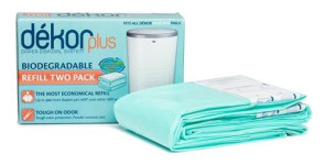 Dekor Plus Biodegradable Refill Bags, Pack of 2