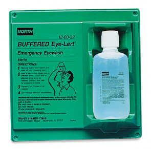 Eye-Lert Emergency Eye Wash Station with 16 oz. Bottle