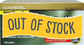 (Out of Stock) Extra Strength Aspirin Tablets, 100/Bottle