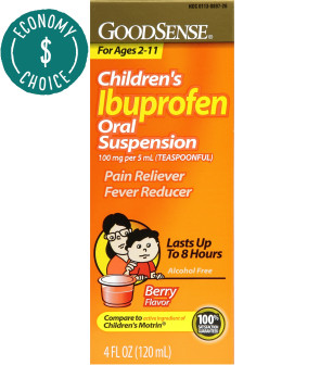Economy Ibuprofen Children's Liquid 4 oz, 100 mg Per 5 ml