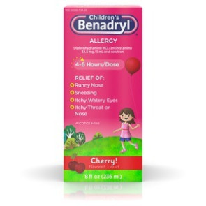 Benadryl Children's Liquid, 8 Oz