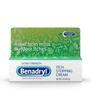 Benadryl Extra Strength 2% Itch Stopping Cream, 1 Oz Tube
