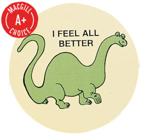 """I Feel All Better"" Stickers, 500/Roll"