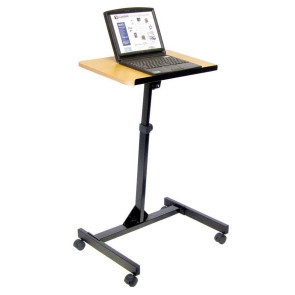 Luxor Adjustable Mobile Laptop Cart