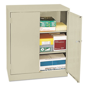 Economy Assembled Counter-Height Storage Cabinet