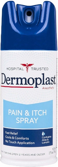 Dermoplast Aerosol Pain Relieving Spray, 2.75 Oz