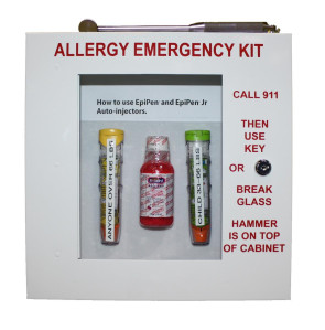 The Original Allergy Emergency Kit with Lock