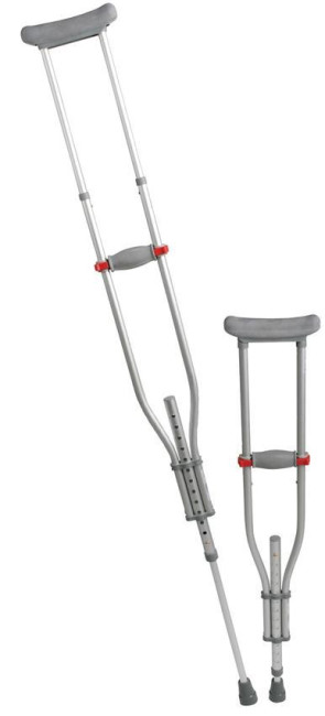 Quick Fit Crutches