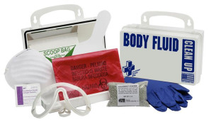 Body Fluids Clean Up Kit