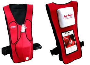 Anti-Choking Red Trainer Vest