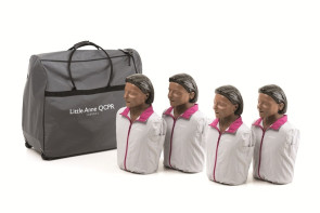 Little Anne QCPR 4 Pack Dark Skin