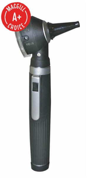 Economy LED Mini-Otoscope Black