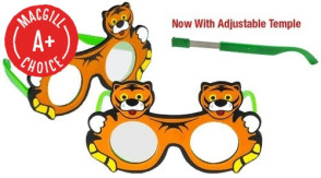 Tiger Frosted Occluder Glasses