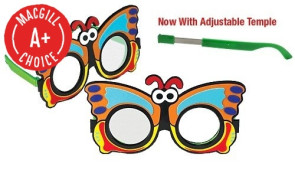Butterfly Frosted Occluder Glasses