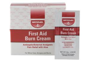 First Aid Cream w/Aloe Vera, 25 Foil Packs/Box