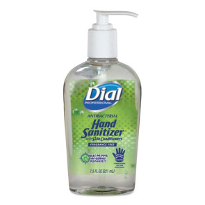 Dial Instant Hand Sanitizer, 7.5 Oz Bottle