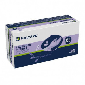 X-Large Halyard Purple Nitrile Gloves, 10 Boxes/Case