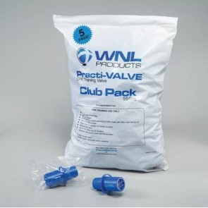 CPR Practi-Valve Training Valves, 55/Bag