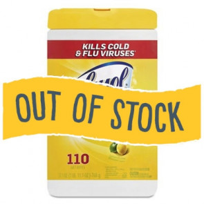 (Out of Stock) Lysol® Disinfecting Wipes, 110/Can