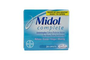 Midol® Maximum Strength Caplets, 24/Box