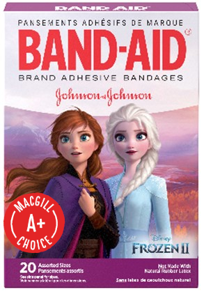 Band-Aid® Disney Frozen Assorted Bandages, 20/Box