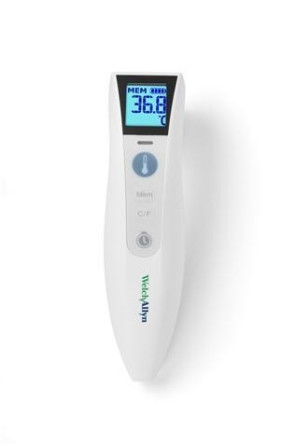 Welch Allyn® CareTemp Touch Free Thermometer