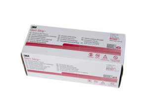 "3M™ Sterile 1/4"" x 3"" Steri-Strip™, 1 Box (50 packs of 3)"