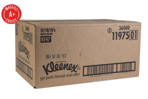 Kleenex® Pocket Packs, 192 Packs per Case