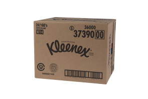 Kleenex® Facial Tissues, 144/Box, 24 boxes per case